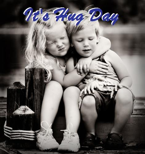 Its Hug Day: Photo for Facebook Share