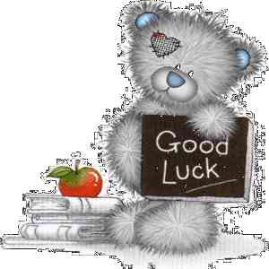 Good Luck Bear Picture for Facebook