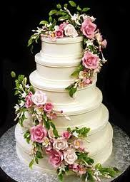 White Wedding Cake Picture for Fb Share