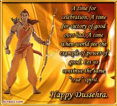 A Time for Celebration Happy Dussehra