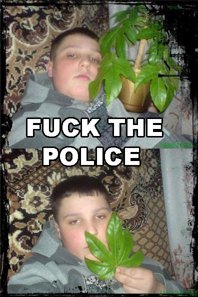 Fuck the police! Funny Picture