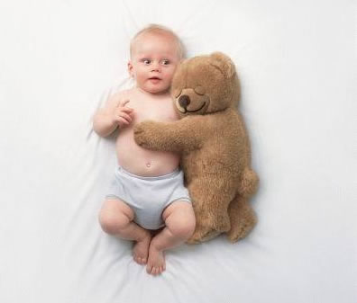 Funny Bear with Child Picture