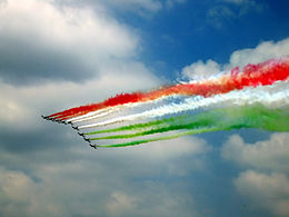 Indian Flag Colours in the Sky Happy Republic Day