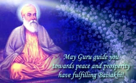 May Guru Guide You Towards Peace and Prosperity have Fulfilling Baisakhi