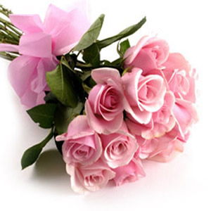 Pink Roses Bouquet for You