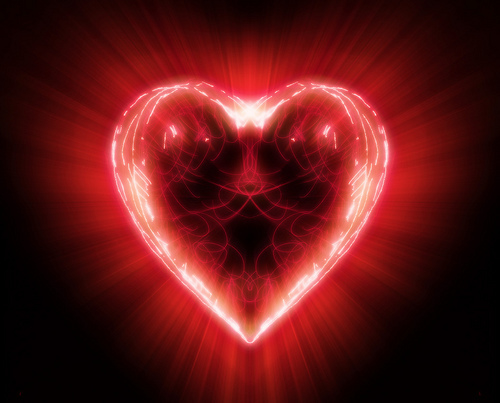 Unconditional Love Heart Picture