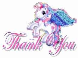 Unicorn Thank you Picture