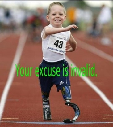 What is your excuse Funny Baby Image