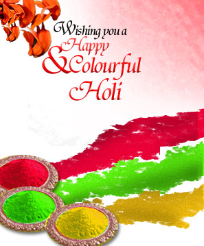 Wishing you a Happy & Colourful Holi