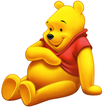 Yellow Pooh Picture for Fb Share